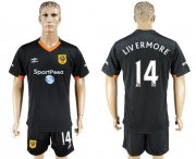 Wholesale Cheap Hull City #14 Livermore Away Soccer Club Jersey