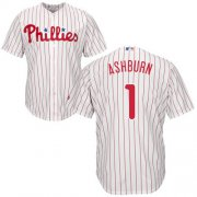 Wholesale Cheap Phillies #1 Richie Ashburn White(Red Strip) Cool Base Stitched Youth MLB Jersey