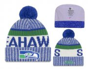 Wholesale Cheap NFL Seattle Seahawks Logo Stitched Knit Beanies 015
