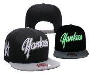 Wholesale Cheap MLB New York Yankees Snapback Ajustable Cap Hat 5