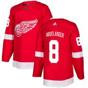 Wholesale Cheap Adidas Red Wings #8 Justin Abdelkader Red Home Authentic Stitched Youth NHL Jersey