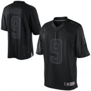 Wholesale Cheap Nike Saints #9 Drew Brees Black Men's Stitched NFL Drenched Limited Jersey