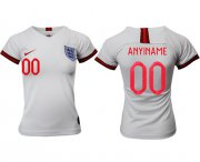 Wholesale Cheap Women's England Personalized Home Soccer Country Jersey