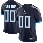 Wholesale Cheap Nike Tennessee Titans Customized Navy Blue Alternate Stitched Vapor Untouchable Limited Youth NFL Jersey