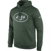 Wholesale Cheap New York Jets Nike Practice Performance Pullover Hoodie Green