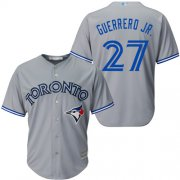 Wholesale Cheap Blue Jays #27 Vladimir Guerrero Jr. Grey New Cool Base Stitched MLB Jersey