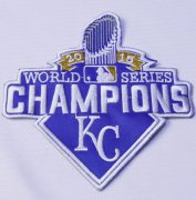 Wholesale Cheap Stitched 2015 Kansas City Royals World Series Champions Jersey Patch