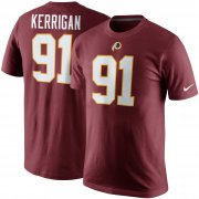 Wholesale Cheap Washington Redskins #91 Ryan Kerrigan Nike Player Pride Name & Number T-Shirt Burgundy
