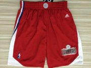 Wholesale Cheap Men's Los Angeles Clippers 2015-16 Red Short