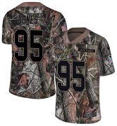 Wholesale Cheap Nike Chiefs #95 Chris Jones Camo Men's Stitched NFL Limited Rush Realtree Jersey