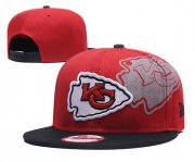 Wholesale Cheap NFL Kansas Chiefs Team Logo Red Adjustable Hat