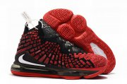 Wholesale Cheap Nike Lebron James 17 Air Cushion Shoes Red Black