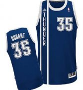 Wholesale Cheap Oklahoma City Thunder #35 Kevin Durant 2013 Navy Blue Swingman Jersey