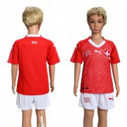 Wholesale Cheap Switzerland Blank Kid Soccer Country Jersey