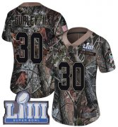 Wholesale Cheap Nike Rams #30 Todd Gurley II Camo Super Bowl LIII Bound Women's Stitched NFL Limited Rush Realtree Jersey