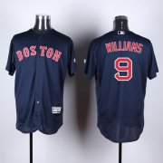 Wholesale Cheap Red Sox #9 Ted Williams Navy Blue Flexbase Authentic Collection Stitched MLB Jersey