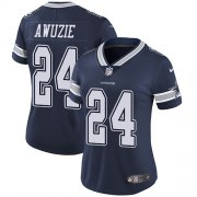 Wholesale Cheap Nike Cowboys #24 Chidobe Awuzie Navy Blue Team Color Women's Stitched NFL Vapor Untouchable Limited Jersey
