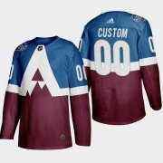 Wholesale Cheap Adidas Colorado Avalanche Custom Men's 2020 Stadium Series Burgundy Stitched NHL Jersey