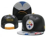 Wholesale Cheap Pittsburgh Steelers Snapback Ajustable Cap Hat YD