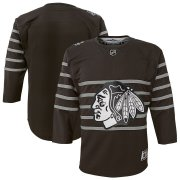 Wholesale Cheap Youth Chicago Blackhawks Gray 2020 NHL All-Star Game Premier Jersey