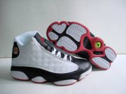 Wholesale Cheap Air jordan 13 he got game Shoes White/Black