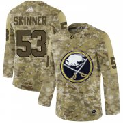 Wholesale Men's Buffalo Sabres Black Camo Stack T-Shirt