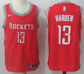 Wholesale Cheap Nike Houston Rockets #13 James Harden Red Stitched NBA Jersey