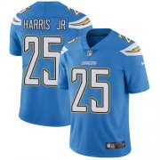 Wholesale Cheap Nike Chargers #25 Chris Harris Jr Electric Blue Alternate Youth Stitched NFL Vapor Untouchable Limited Jersey