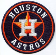 Wholesale Cheap Stitched MLB Houston Astros Team Logo Jersey Sleeve Patch