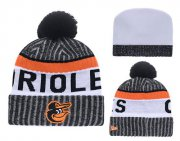 Wholesale Cheap MLB Baltimore Orioles Logo Stitched Knit Beanies 003