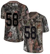 Wholesale Cheap Nike Bears #58 Roquan Smith Camo Youth Stitched NFL Limited Rush Realtree Jersey