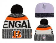 Wholesale Cheap NFL Cincinnati Bengals Logo Stitched Knit Beanies 014