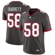 Wholesale Cheap Tampa Bay Buccaneers #58 Shaquil Barrett Men's Nike Pewter Alternate Vapor Limited Jersey