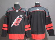 Wholesale Cheap Adidas Hurricanes Blank Black Alternate Authentic Stitched NHL Jersey