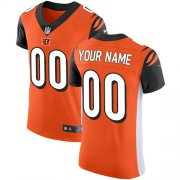 Wholesale Cheap Nike Cincinnati Bengals Customized Orange Alternate Stitched Vapor Untouchable Elite Men's NFL Jersey