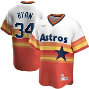 Wholesale Cheap Houston Astros #34 Nolan RyanNike Home Cooperstown Collection Player MLB Jersey White