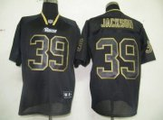 Wholesale Cheap Rams #39 Rickey Jackson Lights Out Black Stitched NFL Jersey