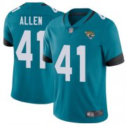 Wholesale Cheap Nike Jaguars #41 Josh Allen Teal Green Alternate Youth Stitched NFL Vapor Untouchable Limited Jersey
