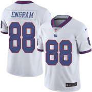 Wholesale Cheap Nike Giants #88 Evan Engram White Youth Stitched NFL Limited Rush Jersey