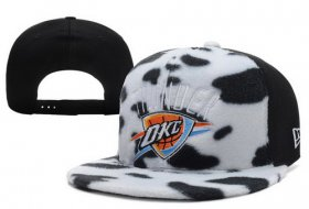 Wholesale Cheap NBA Oklahoma City Thunder Snapback Ajustable Cap Hat XDF 011