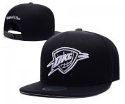 Wholesale Cheap NBA Oklahoma City Thunder Snapback Ajustable Cap Hat XDF 044