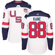 Wholesale Cheap Team USA #88 Patrick Kane White 2016 World Cup Stitched Youth NHL Jersey
