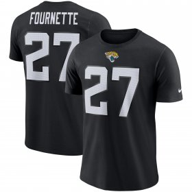 Wholesale Cheap Jacksonville Jaguars #27 Leonard Fournette Nike Player Pride Name & Number Performance T-Shirt Black