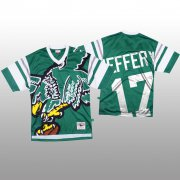 Wholesale Cheap NFL Philadelphia Eagles #17 Alshon Jeffery Green Men's Mitchell & Nell Big Face Fashion Limited NFL Jersey