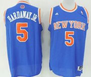 Wholesale Cheap New York Knicks #5 Tim Hardaway Jr. Revolution 30 Swingman 2013 Blue Jersey
