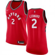 Wholesale Cheap Women's Nike Toronto Raptors #2 Kawhi Leonard Red NBA Swingman Icon Edition Jersey