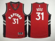 Wholesale Cheap Men's Toronto Raptors #31 Terrence Ross Revolution 30 Swingman Red Jersey