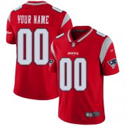 Wholesale Cheap Nike New England Patriots Customized Red Men's Stitched NFL Limited Inverted Legend Jersey