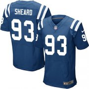 Wholesale Cheap Nike Colts #93 Jabaal Sheard Royal Blue Team Color Men's Stitched NFL Elite Jersey