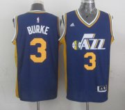 Wholesale Cheap Utah Jazz #3 Trey Burke Revolution 30 Swingman 2014 New Navy Blue Swingman Jersey